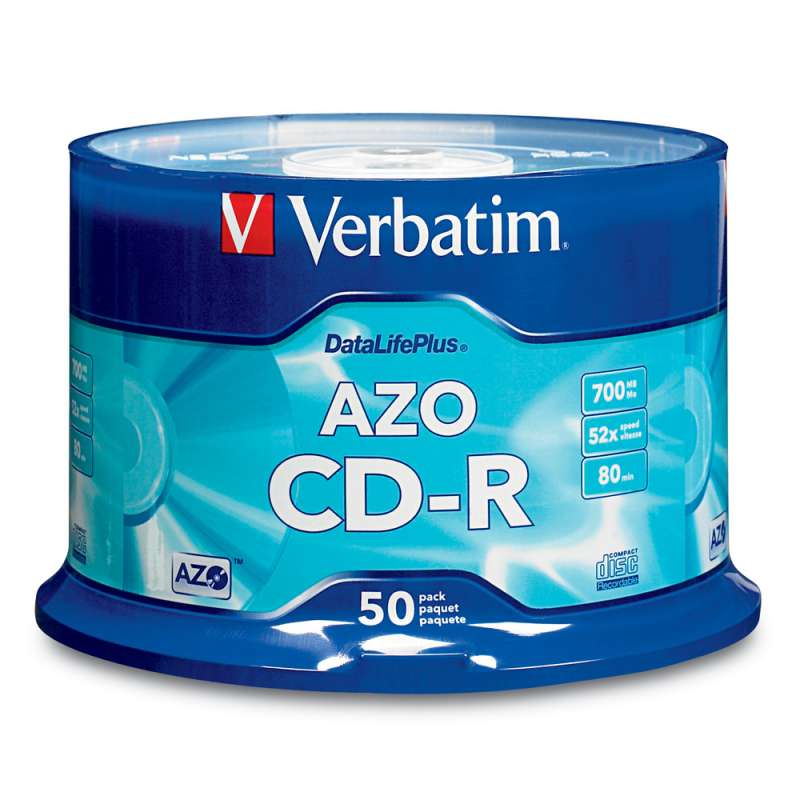 CD Verbatim Azo Crystal